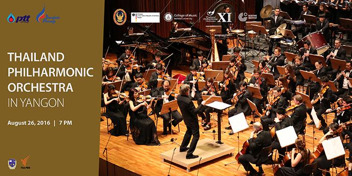 Thailand Philharmonic Orchestra in Yangon