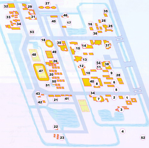 Salaya Campus Map