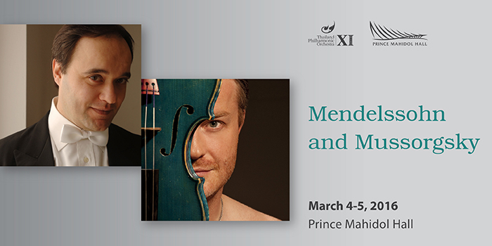Mendelssohn and Mussorgsky