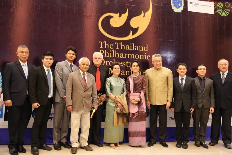 Thailand Philharmonic Orchestra in Myanmar