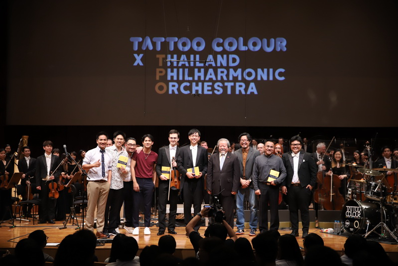 Tattoo Colour X Thailand Philharmonic Orchestra Concert