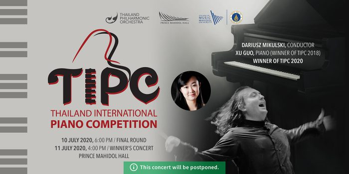POSTPONED: THAILAND INTERNATIONAL PIANO COMPETITION