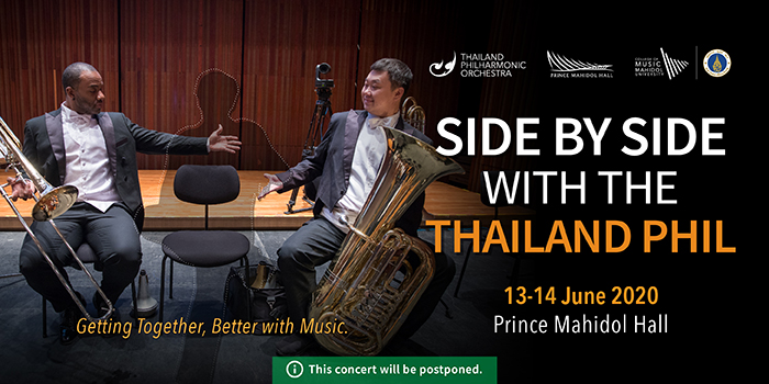 POSTPONED: SIDE BY SIDE WITH THE THAILAND PHIL