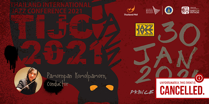 [CANCELLED] Thailand International Jazz Conference