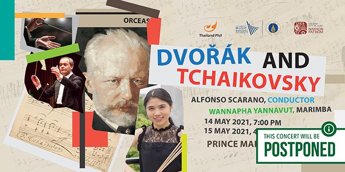 [POSTPONED] Dvořák and Tchaikovsky